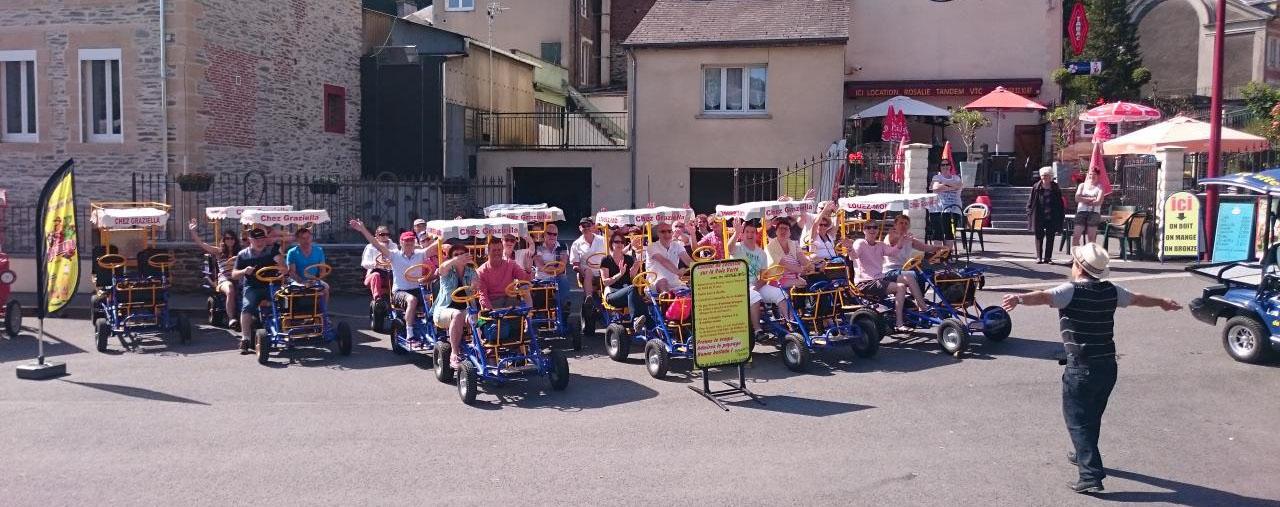 Locations de Rosalies, Bateaux, Vélos électriques